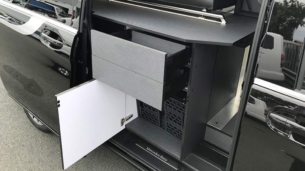 qualité des aménagements des véhicules funéraires