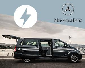 Mercedes-Benz EQV : le véhicule funéraire à l'élégance électrique.